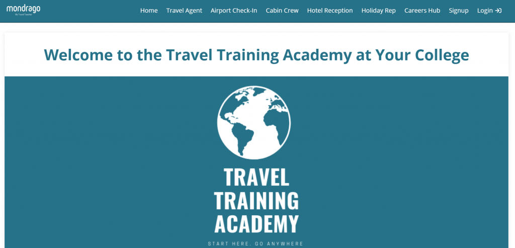 The Travel Training Academy at your college